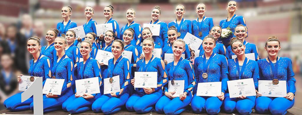 Twirling Santa Cristina: gruppo coreografico campionesse europee!