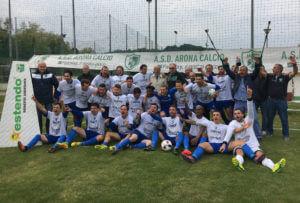Sogno, rispetto, lavoro: Arona Calcio è in Eccellenza