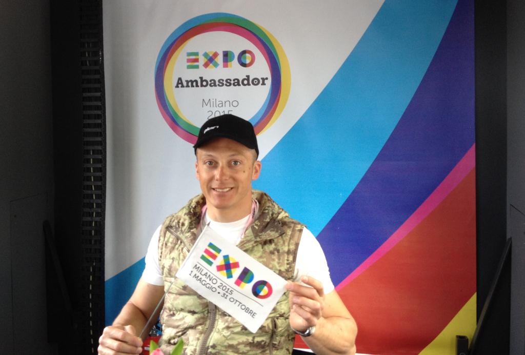 Max blardone ambasciatore di expo milano 2015 for Esposizione universale expo milano 2015