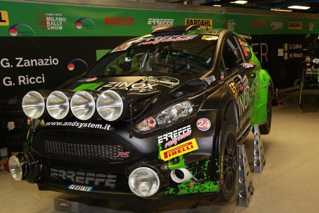 Zinox Laser festeggia i suoi 10 anni al Monza Rally Show