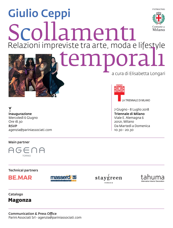 Scollamenti Temporali: le carte da parati Agena in mostra con l'architetto Ceppi.