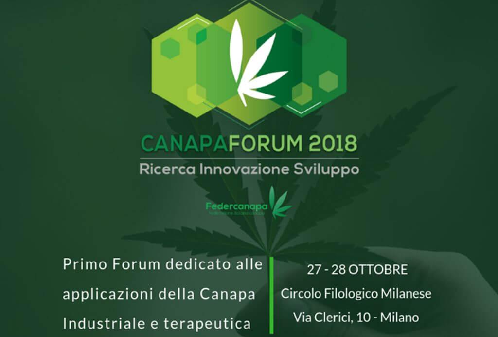 Ufficio Stampa per il 1° CanapaForum di Milano