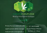La locandina di presentazione di CanapaForum