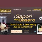 Organizzazione eventi per il territorio: la locandina di I Sapori del Casaro per Incasso Elettrodomestici