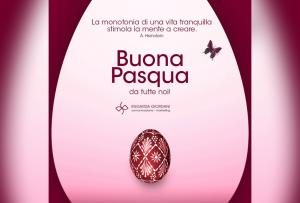 Buona Pasqua e buona creatività da Engarda Giordani Comunicazione
