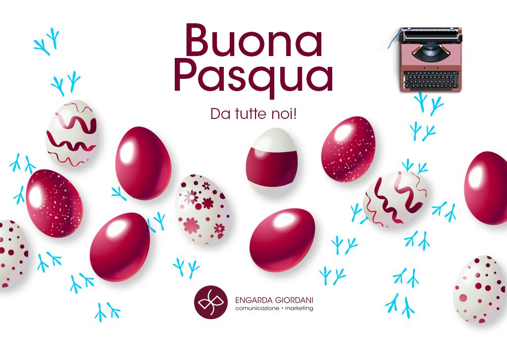 Buona Pasqua dal team Engarda Giordani Comunicazione
