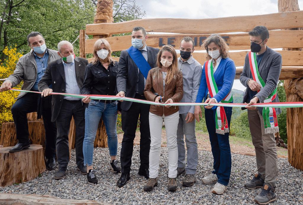 Doppia inaugurazione per l'Adventure Park Lago d'Orta Le Pigne